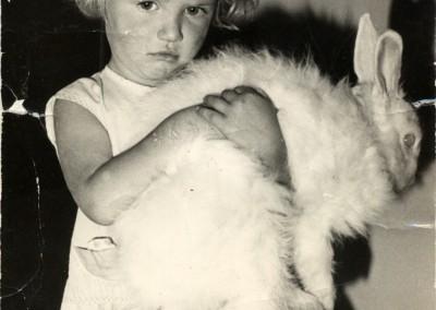 Sam aged 4