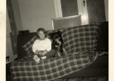Sam aged 6