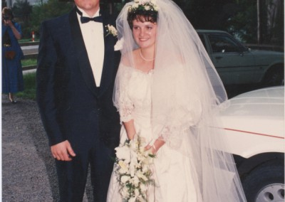 Married October 14th 1988